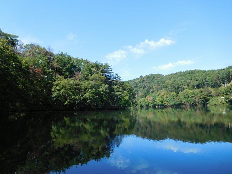 秋の釣り場