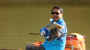 野釣りの一枚